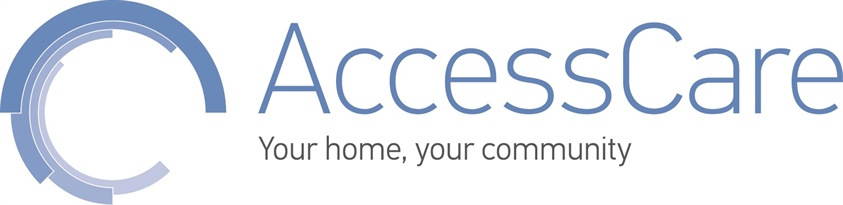 AccessCare_Blue_horiz_Your-Home-tag
